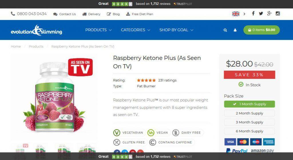 Raspberry Ketone Plus Oficial Site